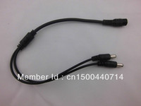 Wholesale DC to Power Splitter Cable Cord For CCTV Camera Female to Male