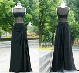 Sfani Real Photos New 2019 Prom Dresses See Through Back Black Evening Dress Plus Size 100% Nice Dress