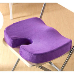 Wholesale S5Q Hip Cares Supply Back Ache Cushion Hot Memory Foam Orthopedic Seat Office Chair Solution AAADUJ