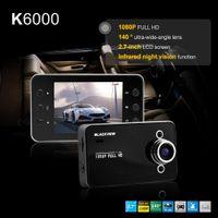 achat en gros de résolution de l'écran-K6000 HD 1080p voiture caméra 140 degrés 2.7