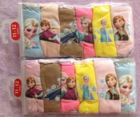 Wholesale panties Frozen New Children Panties Hot Sell Frozen Underwear Frozen Briefs panties pack Sizes For Y Girls