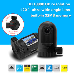 Wholesale Ambarella GS6000 P Full HD Car GPS Camera quot LCD Screen Car DVR HDMI Degree Video Recorder Car Camcorder
