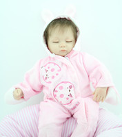 """Cheap 18"""" lifelike reborn baby dolls for sale soft silicone vinyl reborn babies realistic child Christmas gifts"""