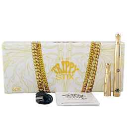 Wholesale New luxury Trippy Stix Kit for Wax Dry Herb Solid Oil eGo Strippy Stix IN Kit with kinds of Wax Dry Herb Vaporizer pen