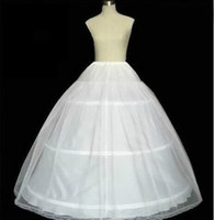 Wholesale Cheap Hoop tulle Wedding Bridal Gown Dress Petticoat Underskirt Crinoline Wedding Accessories