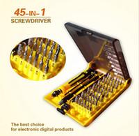 Wholesale Mobile Kit tool sets in1 Torx Precision Screw Driver Cell Phone Repair Tool Set multi tool Tweezers
