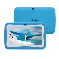 Wholesale New Arrival Lovely iRulu quot Android Capacitive Tablet PC for Kids Children RK3026 GHz GB Dual Core Dual Camera Kids Tablet PC