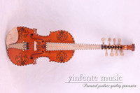 Wholesale 4 Violin New Spruce Maple Fine Tone Hand carved AA66