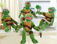 Wholesale Teenage Mutant Ninja Turtles plush toys TMNT cute Plush Doll best Christmas gift birthday gift four color