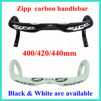 Wholesale Zipp carbon handlebar Zipp Road bike black white handlebars mm mm mm sizes Short And Shallow Version ZIPP VUKA SPRINT CARBON FIBER