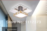Cheap Hot Item 8W LED Square Chandelier Modern Square Crystal Chandelier Free shipping