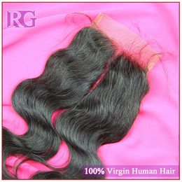 Indian human hair lace closure unprocessed body wave Indian virgin hair 3bundles with a lace closure color 1B free shipping