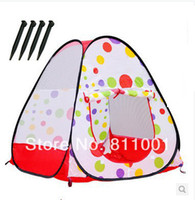Cheap Ultralarge Baby Tent Toy Childern Playing Indoor&Outdoor Fun Kids Play Game House Kids Tent Toy Multi-Function Tent Child