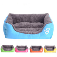 Wholesale Pet Cat Dog Bed Soft Warm House Pet Kennel S M L Sizes Colors High Quality Pet Supplies Products