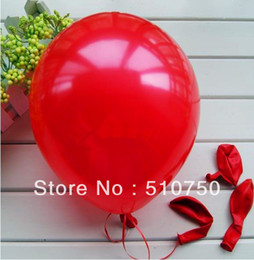 high quality wholesale 100pc lot 10' inch1.2g helium Latex balloons party Wedding Birthday decoration Balloon Free shipping-red