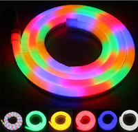 led signs outdoor - New Arrival LED Neon Sign LED Flex Rope Light PVC LED Light LED Strips Indoor Outdoor LED Flex Tube Disco Bar Pub Christmas Party Decoration