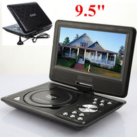 Wholesale BLACK PORTABLE DVD PLAYER USB SD GAME AV IN OUT FM TV RADIO MP0334