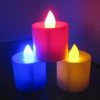 Candle best flameless candle - LED Smokeless flameless Flickering Battery Candles Tea Light Christmas Gifts For Promotions Best Price