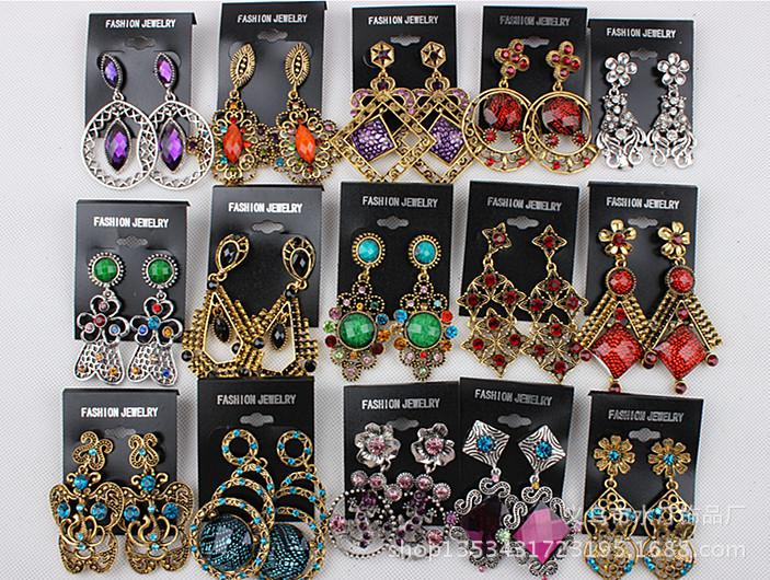 Buy Cheap Fashion Earrings Fashion Retro Hoop Earrings