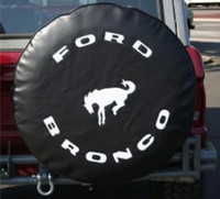 Wholesale NEW FORD BRONCO BLACK Heavy Duty Vinyl Tire Cover Ford Bronco