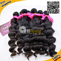 Wholesale 6a unprocessed virgin hair Malaysian loose wave hair extension Luxy hair factory