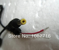 Wholesale 2pcs DC Plug Tip x1 mm male cable power adapter connector cord For Asus HP Sharp etc Laptop Notebook