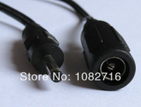 Wholesale 20pcs DC straight mm female to x1 mm male cable power plug adapter connector cord cm