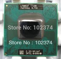 Wholesale T7600 Notebook CPU Original Intel Core Duo T7600 GHz PGA SL9SD Laptop CPU