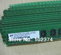 Wholesale Server memory GB x GB DDR2 ECC MHZ PC2 E Workstation RAM FOR DELL SC420 SC430 SC440 N X3200 X3250 for hp ML110 G5 ML310 G5