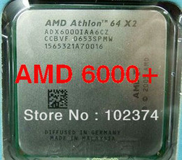6000+ Processeur AMD Athlon 64 X2 6000+ CPU 3.0GHz / AM2 / 940pin / ADA6000IAA6CZ / DUAL-CORE / 2MB L2 Cache / Bulk 89w Livraison gratuite