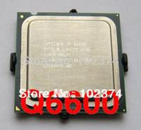Wholesale Q6600 cpu Original Intel Desktop CPU Q6600 GHz Intel Core2 Four nuclear CPU LGA775 MB Cache and retail