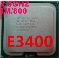 Wholesale E3400 intel Celeron dual core E3400 CPU M Cache GHz MHz desktop Celeron E3400 Processor