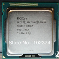 Wholesale Original Intel Pentium Processor G2030 M GHz LGA TDP W desktop CPU