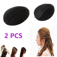 Wholesale Pair Velcro Volume Bumpit Hair Bump Up Bumpits Princess Styling Tool Base Insert