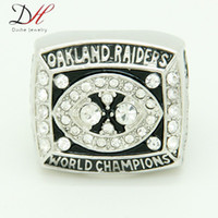 super bowl ring - Daihe fashion sport Jewelry Super Bowl Oakland Football Championship Ring World Series Big Rings For Fans Collection Size