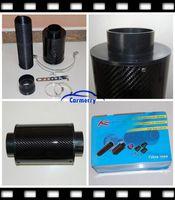 Wholesale Carbon Fiber Air Intake Filter Kit Universal Cold Air Extension System Car Air Intake