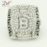 championship ring - 2015 Daihe New Arrival Fashion Sport Jewelry Stanley Cup Championship Ring silver Alloy Rings For Men Collection