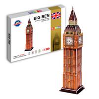 Wholesale Toy D puzzle The world famous building the D model of meet EN71 certification
