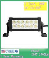 Wholesale LED Work Lighting W Light Bars Flood Off Road LED Bar IP67 For WD ATV UTV SUV Lights