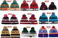 Wholesale Unisex Winter Beanies Basketball Caps Street Wear Hip Hop Knitted Hats