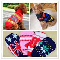 Wholesale Dog Apparel Pet Sweater Dog Clothes Spring Bottoming Loading Dog Sweaters Cats Clothes