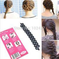 Wholesale Fashion French Hair Braiding Tool Roller With Magic hair Twist Styling Bun Maker