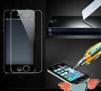 al por mayor película de pantalla iphone4-Protector de la pantalla de cristal templado para el iPhone 6 protector de la película de la prueba de la explosión de 0.33mm 2.5D para iPhone4 5 6 4.7 6+ 5.5 con el paquete al por menor