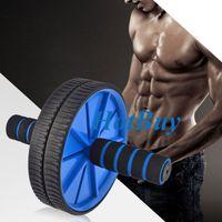 Wholesale Two wheel Hand Pusher AB Power Wheel AB Roller Exercise Equipment Machine Strength Trainer Kit