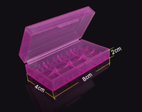 container - Plastic Battery Case Box Holder Storage Container pack or CR123A and for mechanical mod batteries