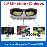 Wholesale active shutter dlp link d glasses for dlp link d projector for Varied brand projectors