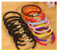 Wholesale New Colors Baby Girl Kids Tiny Hair Accessary Hair Bands Elastic Ties Ponytail Holder