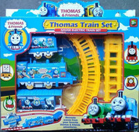 Wholesale Kids Toys Thomas Train Set Electric Rail Cars Toys for Children Classic Toys Educational Toys Christmas Gifts