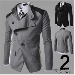Discount Blazer Casual Suits Men Black | 2017 Blazer Casual Suits
