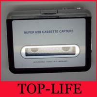 Wholesale Ezcap USB Cassette To MP3 Converte High Fidelity Turn your tapes into mp3 Bring your memory back
